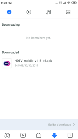 Install HDTV on Android Smartphones