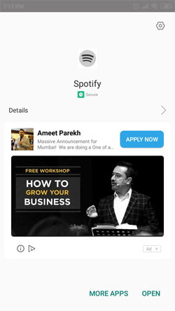 Install Spotify Premium on Android Smartphones
